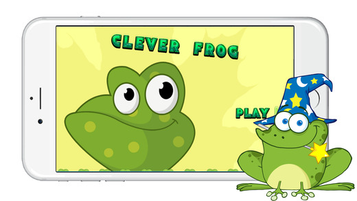 聪明的青蛙跳冒险游戏免费的孩子