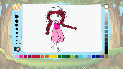 儿童着色书02 - 孩子的着色页