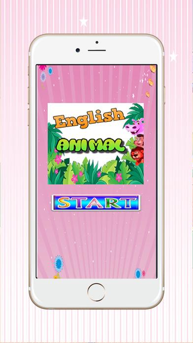 动物的英文拼写字为孩子