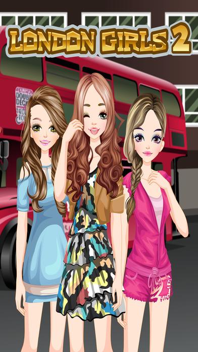 London Girls 2 - 扮靓和弥补游戏的孩子谁 伦敦