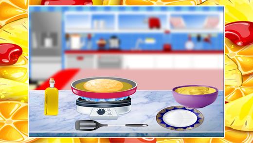 煎饼制造商 - 疯狂的烹饪和面包店游戏为孩子们