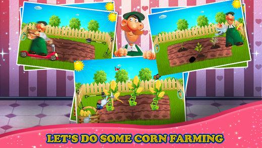 爆米花工厂 - 疯狂的食品制造商和烹饪厨师游戏的孩子