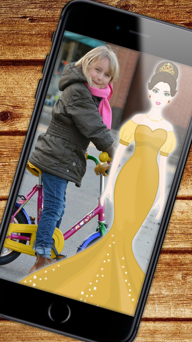 公主 - 照片贴纸
