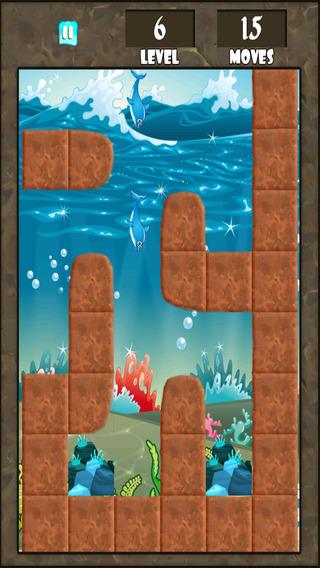 海豚逃离迷宫 - 趣味水下探秘冒险 免费
