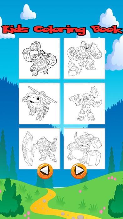 卡通人物图画书为孩子幼儿