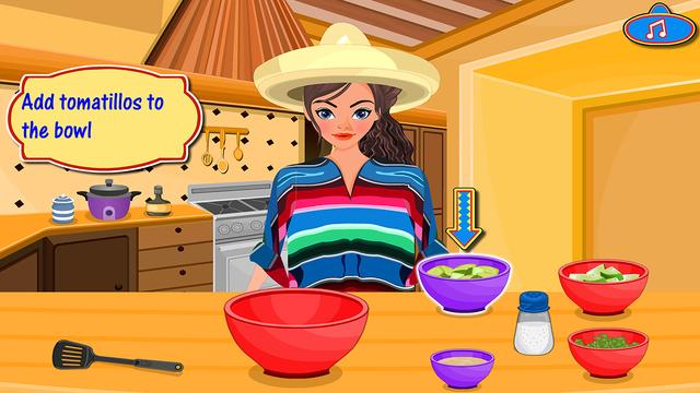 墨西哥鱼肉卷 - 模拟做饭游戏