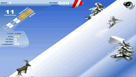 雪人单板滑雪