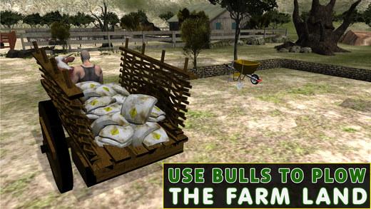 牛市车养殖模拟器 - 布洛克骑马或赛车模拟游戏