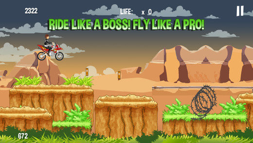 怪物Dirtbike山爬坡PRO - 无畏和恩帝漂流运动!