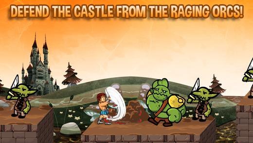 城堡守护者PRO - 反对野蛮帝国传奇战士。
