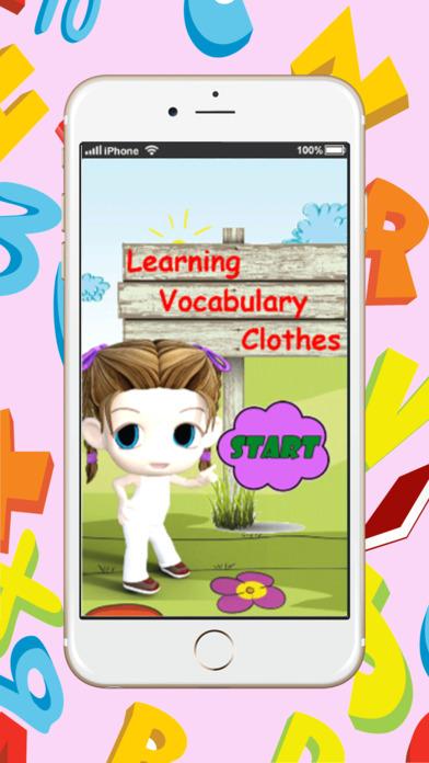 学习英语词汇衣服:学习教育游戏为孩子初学