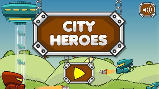 城市英雄保卫战 - 塔防射击游戏