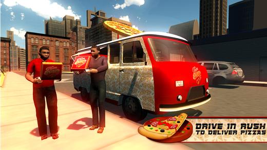 比萨送货车模拟器送外卖