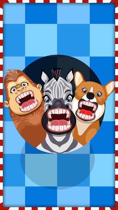 圣诞老人的 圣诞节 小 宠物 牙医 开玩笑 游戏 对于 孩子