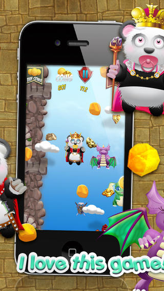 熊猫宝宝熊淘金王国战役 - 超级跳跃类游戏免费版! Baby Panda Bears Battle of The Gold Rush Kingdom - A Super Jumping Game FREE Edition!