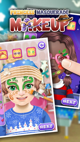 小公主化妆舞会-儿童游戏
