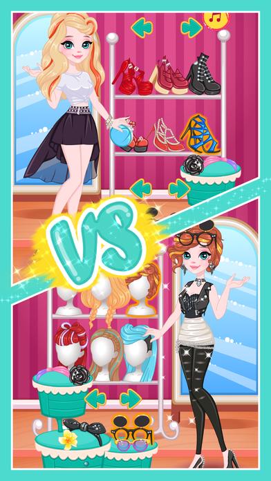 时尚造型师大赛2 - 女生双人换装游戏