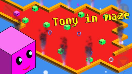 托尼在迷宫 - 跑步游戏