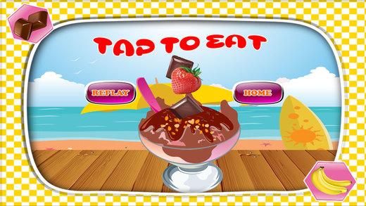 冷冻蛋奶生产商 - 做甜品在这个烹饪厨师游戏小孩