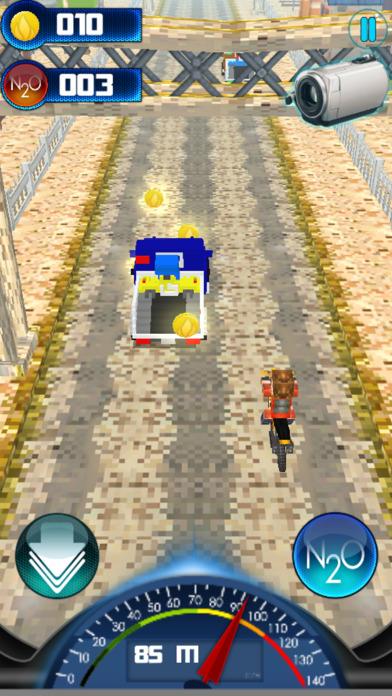 大自行车汽车交通赛车游戏