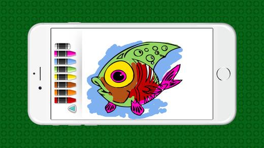 动物为孩子们着色书