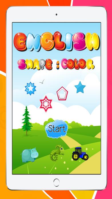 形状和颜色的拼图免费幼儿园