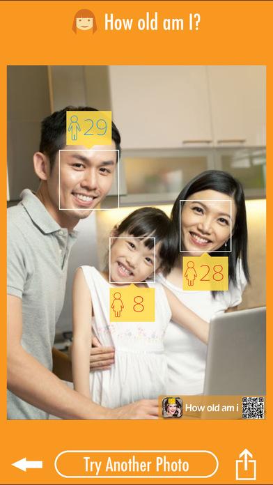 年龄相机 - 长相测试识别器 手机美图快直播到朋友圈吧