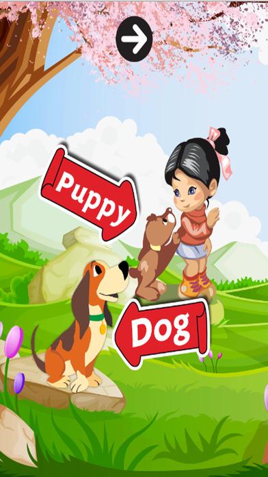 学习英语词汇K.5:学习为孩子和初学者的免费教育游戏