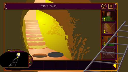 神秘的箭头隧道--经典逃脱游戏