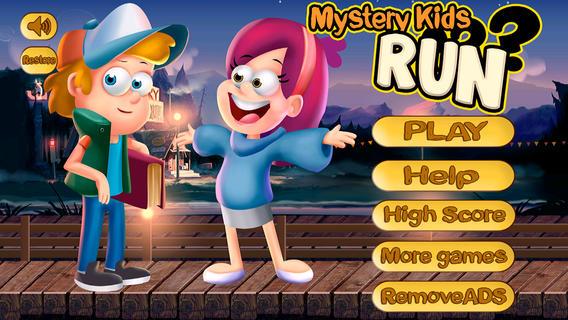 Mystery Kids Run : Jack vs. Gravity Rope Objects : 神秘的孩子运行: 杰克 vs.重力绳对象
