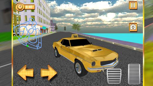 真正的城市出租车模拟器 - 疯狂的汽车驾驶3D