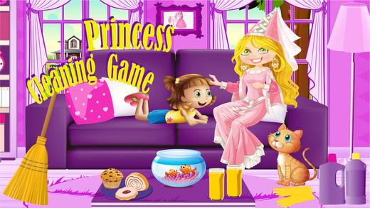 公主清洁游戏