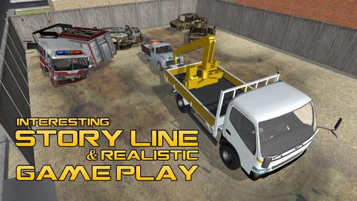 3D拖车 - 极端货车的驾驶和停车模拟器游戏