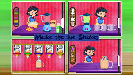奶昔饮料制造商 - 甜点食品游戏