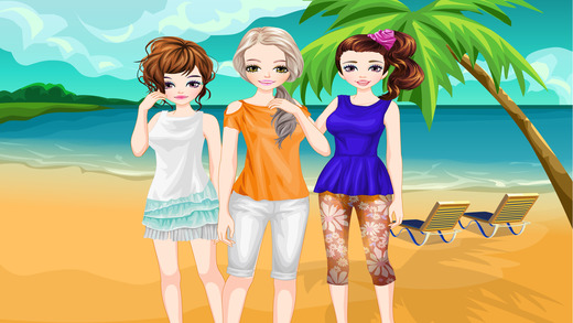 T-shirt Girls - 扮靓和弥补游戏的孩子谁爱时尚T恤