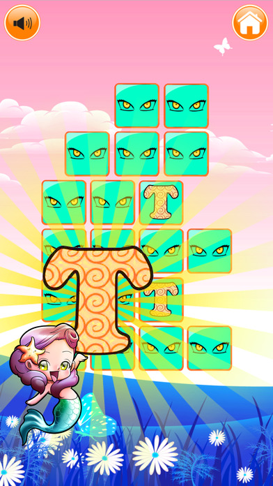 字母 ABC 匹配 - 難題 遊戲 對於 孩子們