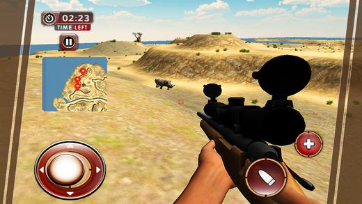 犀牛猎人和最终的动物狩猎模拟器