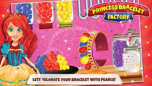 公主手链制造商 - 制造,设计与装饰珠宝在这个游戏中的女孩