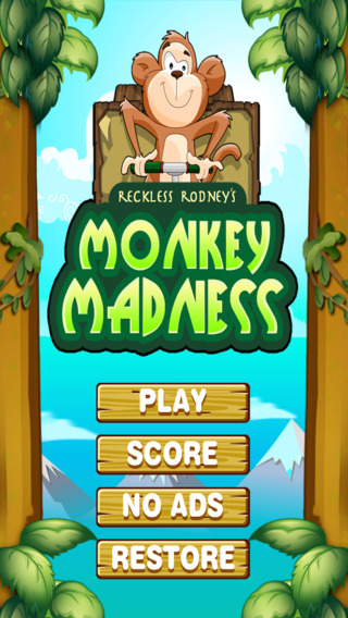 鲁莽罗德尼的猴子疯狂: Reckless Rodney's Monkey Madness