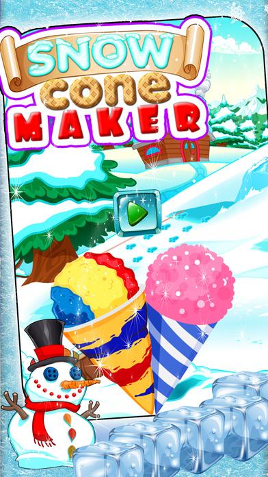 雪锥制造商 - 冷冻甜点杯烹饪
