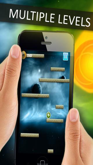 Space Falldown ! :重力加速 计 逃生 精简 版 的 街 机 游戏 - 一个 最 有趣 下降 球 儿童 游戏 - 吸毒 上瘾 酷 滑稽 的 3D 滚动 免费 APP - 物理 加速 的 应用 程序
