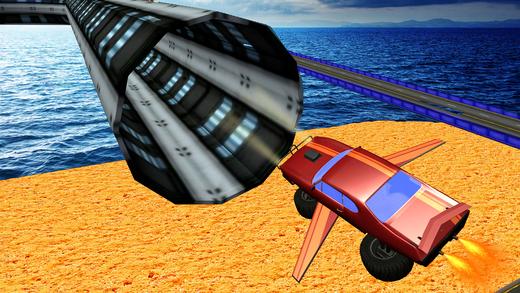 飞行怪物卡车驾驶 -  3D卡车模拟器