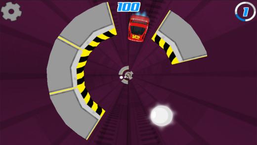 Speed Car Tunnel Racing 3D - 无极限管赛车极端免费游戏