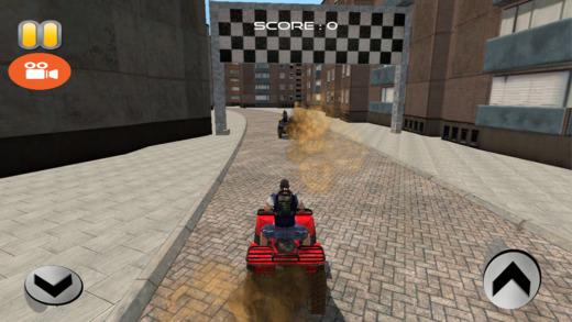 4x4车轮自行车赛车模拟器