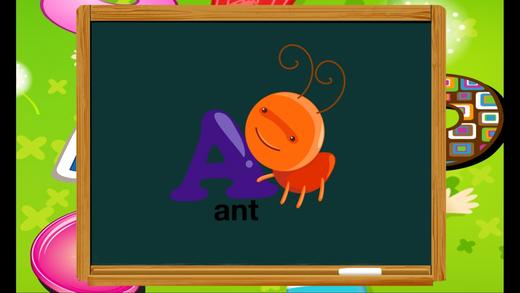 ABC乐趣学习文字阅读动物词汇