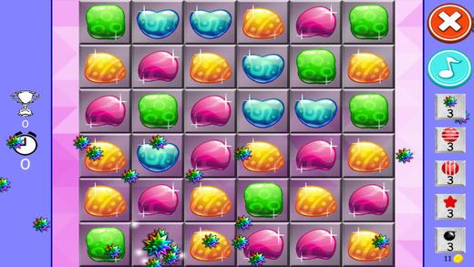 糖果珍贵的珠宝 - 保费奖励和牙龈世界