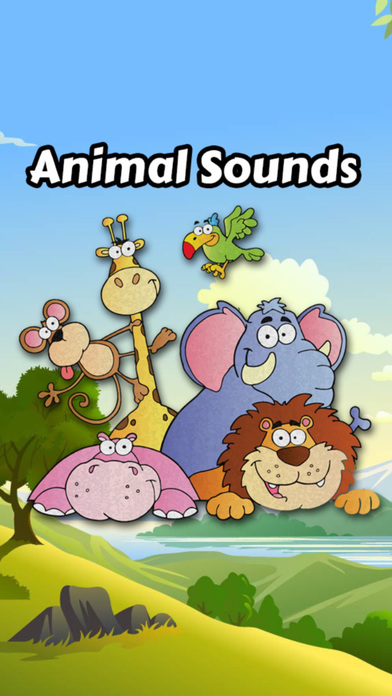 动物的叫声为孩子们的乐趣
