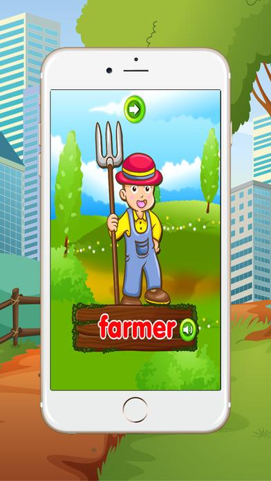 学习英语初学者:词汇:为孩子们学习游戏 - 免费的!