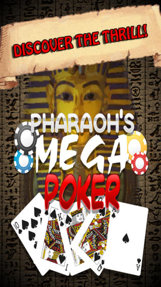 法老的巨型撲克免費-經典卡的遊戲再加上獎金賭博