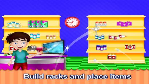 藥店建設 - 店鋪建設者遊戲...